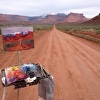 Recent plein air painting near Moab, Utah