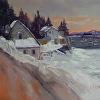 Stonington's Fifield Point In Winter