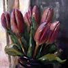 Evening Purple Tulips