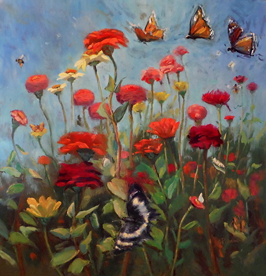 Happy Days Of Summer - Oil