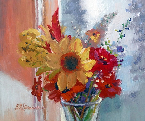 Afternoon Summer Memory - Oil
