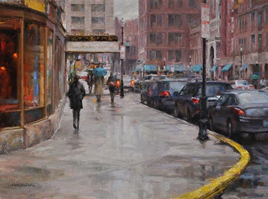 Rainy Start to the Weekend (Boston) -