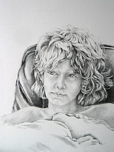 "Joshua by Maria Trapani Pencil ~ 14"" x 11"""