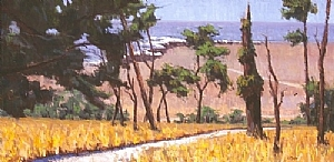 """""""East/West Ranch"""" by JASON MAYR Oil ~ 18 x 36 in."""