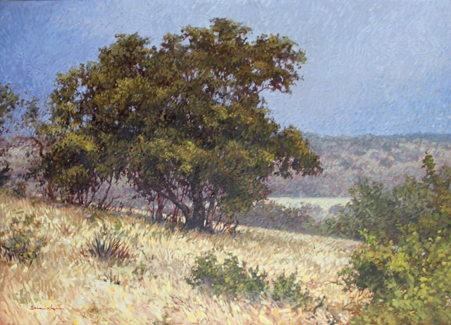 "Near Sisterdale by Sara Winters Oil ~ 36"" x 48"""