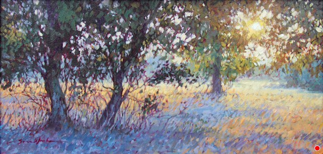 "A Good End by Sara Winters Oil ~ 10"" x 20"""
