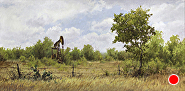 Pump Jack Country by Sara Winters Oil ~ 24 x 48