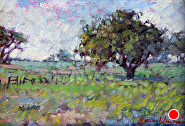 Summerfield by Sara Winters Oil ~ 5 x 7
