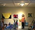 Ileen in studio by Ileen Kaplan