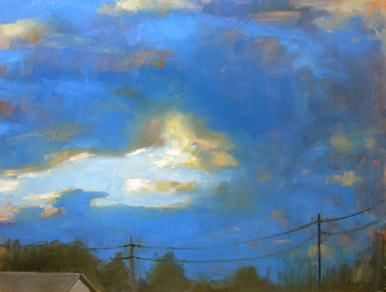 Twilight Sky - Oil