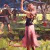 Hooping at the Harvest Fest