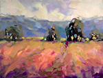 Summer Fields by Trisha Adams Oil ~ 18 x 24