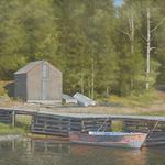 Val Sandell - American Society of Marine Artists North Regional Exhibitio