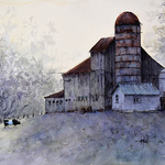 Judy Mudd - NEW! Online Watercolor Workshop - View From the Back