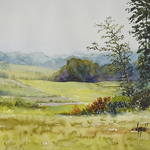 Judy Mudd - Video Available! Beginners Watercolor-Trees in Landscapes
