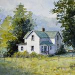 Judy Mudd - NEW! Online Watercolor Workshop-Beginners-Rural Buildings