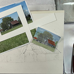 Judy Mudd - NEW! Beginners Workshop-Drawing for Watercolor (Landscapes)