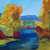 Fall on the Yampa River