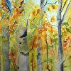 Aspens with Blue Jay