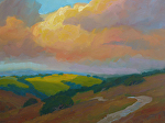 "Light through the Clouds by Jeff Daniel Smith Oil ~ 36"" x 48"""