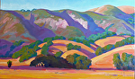 "Hills of California by Jeff Daniel Smith  ~ 36"" x 60"""