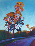 "Above the Road by Jeff Daniel Smith Oil ~ 48"" x 36"""