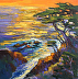 Sunset Cypress by Galerie Plein Aire
