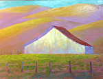 "California Barn by Jeff Daniel Smith Oil ~ 30"" x 40"""
