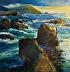 Rocky Coast by Galerie Plein Aire
