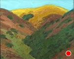 "Lite Hills by Jeff Daniel Smith Oil ~ 8"" x 10"""