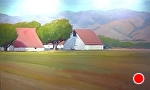 "River Road Barns by Jeff Daniel Smith  ~ 36"" x 60"""