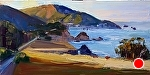 "Rocky Creek Morning by Cyndra Bradford Paintings  ~ 18"" x 36"""