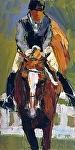 "Over by Cyndra Bradford Giclee Prints Giclee Print ~ 12"" x 8"""