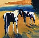 "Eastwood Paints by Cyndra Bradford Giclee Prints Giclee Print ~ 12"" x 12"""