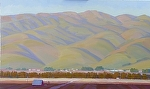 "SALINAS VALLEY EAST by Jeff Daniel Smith Oil ~ 36"" x 60"""