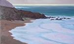 "DISTANT SHINING SEA by Jeff Daniel Smith Oil ~ 36"" x 60"""
