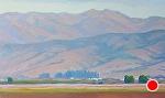 """SALINAS VALLEY WEST by Jeff Daniel Smith Oil ~ 36 x 60"""""""