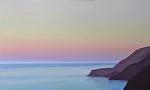 """EVENING CALM by Jeff Daniel Smith Oil ~ 36"""" x 60"""""""