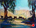 """Summer Shade"" by Cyndra Bradford Paintings Oil ~ 30"" x 40"""