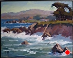 "Late Morning Swell by Jeff Daniel Smith Oil ~ 11"" x 14"""