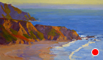 "Point Sur by Jeff Daniel Smith Oil ~ 36"" x 60"""