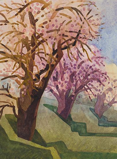 Breath of Spring - Watercolor
