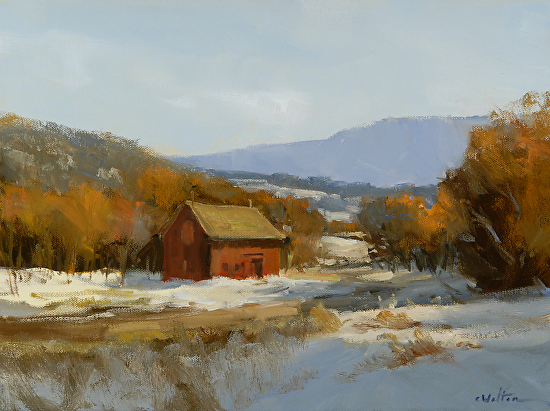 Early Snow Vermont - Oil