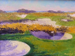 Kiawah Ocean Course Paintings