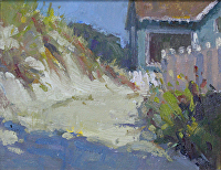 Cottage on the Coast by Pamela Padgett Oil ~  x