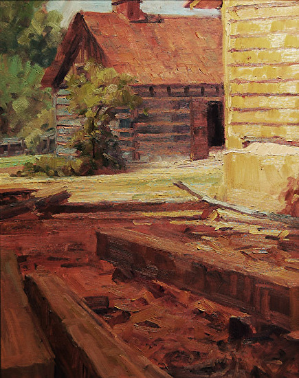 Rough Hewn Timber - Oil