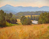 Fairview Farms Afternoon by Richard Christian Nelson Oil ~ 16 x 20
