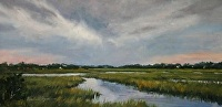Pawleys Cove by Paula B. Holtzclaw Oil ~ 8 x 16