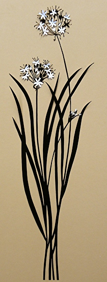 Garlic Chives - Silhouette (Paper&Scissors)
