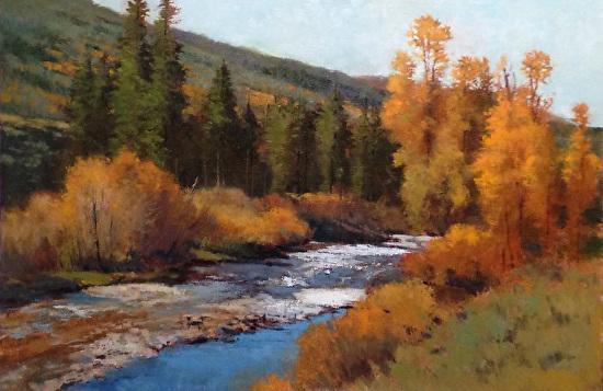 Autumn at Stillman Ranch - Oil